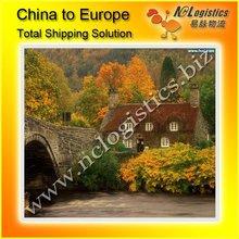 International logistics ship from China to Belgium