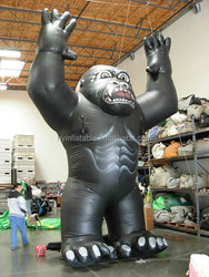 2015 Hot sale Giant inflatable king kong for advertising