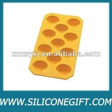 custom shaped design Silicone Ice cube mold pan/tray