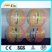 CILE Factory direct sale Newest Design Inflatable colorful bubble ball soccer football for sale