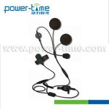 Motorcycle racing helmet headset with tk port + PTT for walkie talkie headset (PTE-730N)