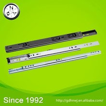 Advanced ability of independent research and development of production Top sale 17mm mini ball bearing drawer slides
