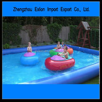 [2014 HOT SALE!!!] Best price bumper boat water park equipment adult inflatable bumper boat battery operated bumper boat