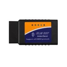 high quality OBD2/OBDII scanner ELM 327 V1.5 car diagnostic interface scanner tool Super mini ELM327 bluetooth