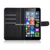 For Nokia Lumia 640 XL Wallet PU Leather Stand Flip Cell Phone Case