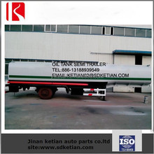 Gasoline / Petroleum / Diesel Fuel Tank Trailer / Crude Oil Tank Trailer For Sale/Fuel Tanker Trailer