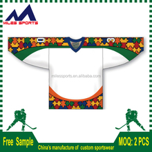 Custom promotion sportswear ice hockey top manufacturer, ice hockey sport wear