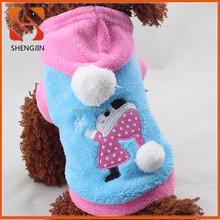 2015 new design cute girl pet dog coat, pet collection, pet clothes
