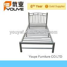 Alta calidad muebles de dormitorio Metal de un solo niños de cama venta