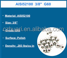 1.588mm miniature steel ball chrome steel ball / carbon steel ball