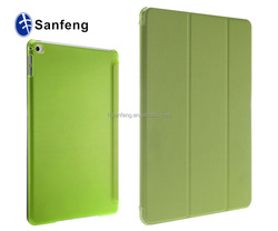 Magnetic leather case for Ipad air 2 sleep cover / folio protector case for ipad air 2 for ipad 6 sleep leather case