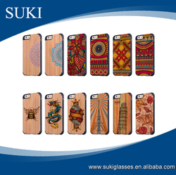Top quality cell phone cover bamboo mobile phone cases wooden cover