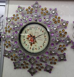 Unique creative home decor unique design metal wall clock