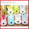 Rabbit Soft Silicone Case For Samsung Galaxy S4 S3 mini Note OEM