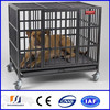 Lowest price Hot-dipped iron fence dog kennel (manufactory)