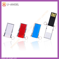 Wholesale Clourful USB Flash Drives Swivel Thumb Drive USB 2.0 Fash Drive
