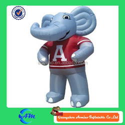 big size elephant inflatable advertising cartoon for sale