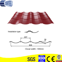 2013 New Steel Corrugated Galvanized Residential Metal Roofing