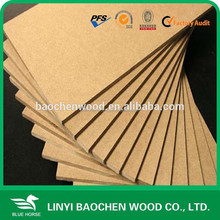 aluminium foil faced Veneer MDF with high quality using water-based paint 2015years new