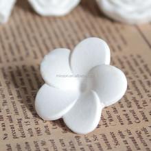 Egg flower white pure ceramic stone for air freshener for home decoration