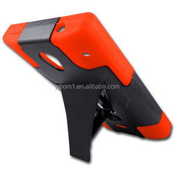 Wholesale Mobile Phone Protective T-Stand PC+Silicone Hybrid Case For Aquos Crystal SH306