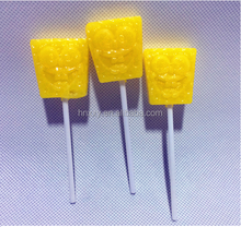 10g animal SpongeBob SquarePants shape lollipop Candy