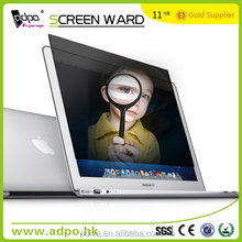 Manufacturer for Apple Macbook Air anti-spy screen protector for laptop
