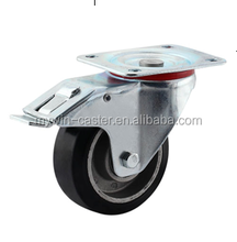 Aluminum core industrial swivel caster