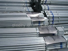 zinc cotaed pipe/astm a120 galvanized steel pipe/2 inch galvanized pipes price per ton
