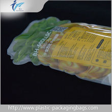 Customized Foil Lined Candy Packaging Bag PET/AL/PE with Tear Notch