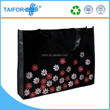 laminated pp pictures printing non woven cloth shopping bag