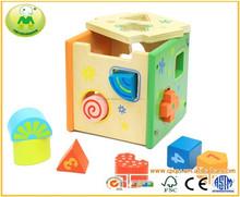 Rompecabezas de madera de juguete juego educativo para niños