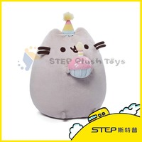 ICTI Audited factory Attractive Fashion Plush Toy Stuffed Animal toys Pusheen Cat for Kids