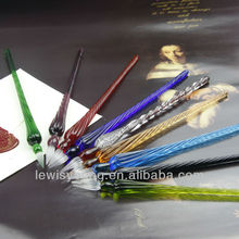 promotion glass pen set, ten colors to choose