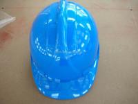 BLUE HDPE INDUSTRIAL SAFETY HELMET