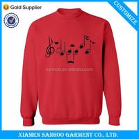 Crewneck Plain Fleece OEM Design Cheap Sweater Winter Warm Wear
