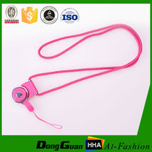 Polyester cell phone lanyard with rope accessories