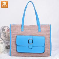 Fancy Straw Beach Bag for Girl