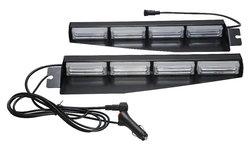 CAR WINDSHIELD LED STROBE FLASHING LIGHT,VISOR LED FLASH STROBE LIGHT (SR-LS-160C), 1W TOP BRIGHT LINEAR LED