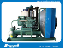 Snowell 5T Per Day Flake Snow Ice Machine Customized Plant On Board Usage Fast Cooling Fishing Industry,Hotels