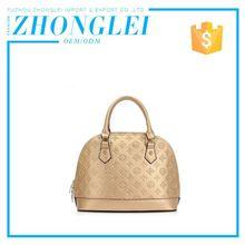 Price Cutting Handle Genuine Leather Travel Bag