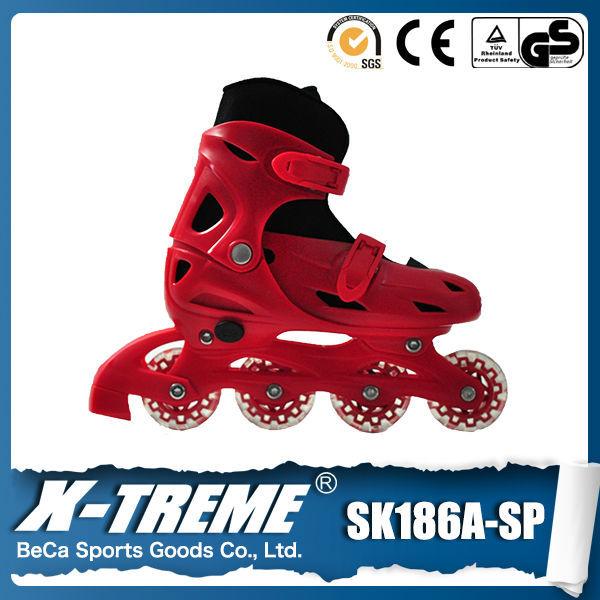 Importação de bens china 64mm*24mm ajustável inline skate rodas de skate inline skate forma