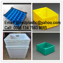 PP corrugated plastic dividers boxes