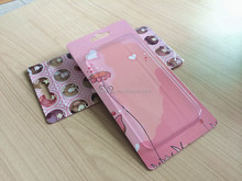 Hot selling lovely cell phone shell box,iphone plus 6 packaging box