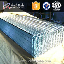 Manufacturer Galvanized Corrugated Sheet Metal Roofing