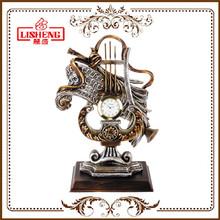 1346M European classic style polyresin quartz clocks