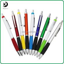 YB-LM100 Promotional plastic pen plastic printed plastic pen ballpoint pen