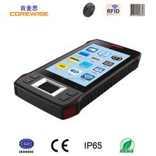 China manufacturer smart phone 4.3 Inch 3G/WIFI/GPS/GPRS/RFID reader/fingerprint sensor/pda bluetooth barcode scanner android