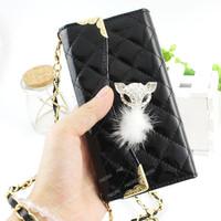 Elegant Lady handbag style leather phone case for LG Nexus 5 2015