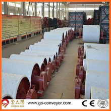 Conveyor tail pulley,conveyor bend pulley for cement belt conveyor system
